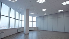 For Rent, Large office space is leased.  Stock Footage