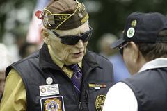Veterans at National Holiday Ceremony Kuvituskuvat