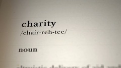 Charity Definition Arkistovideo