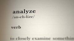 Analyze Definition Stock Footage