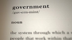 Government Definition Stock Footage