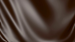 Background fabric chocolate 3D simulation. Arkistovideo