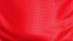Background red fabric soft 3D simulation. Arkistovideo