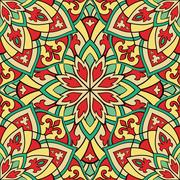 Ethnic colorful ornament. Stock Illustration