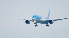 Boeing 787 Dreamliner Stock Footage