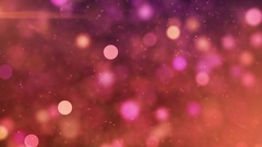 Animated Screen Saver of Pink and Purple With a Flash and Back Focus Background Stock Footage