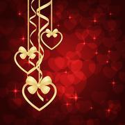 Wonderful Valentines background Stock Illustration