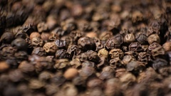 Dry Black Pepper Stock Footage