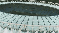 Olympic stadium, Rome. Stadio Olimpico. Stock Footage