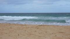 Sunshine Coast, Beach, wave,Slow Motion Stock Footage