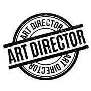 Art Director rubber stamp Stock Illustration