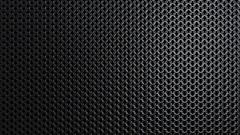 Dark metallic chain armor pattern background loop Stock Footage