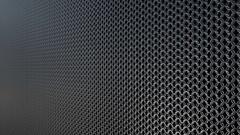 Chain armor metallic pattern background loop Stock Footage
