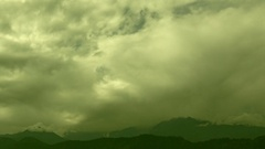Beautiful time lapse HD stock footage of clouds passing over. Stock Footage