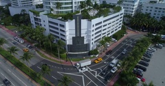 Fontainebleau Hotel Miami Beach 4k 60p Stock Footage