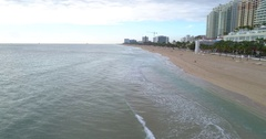 Morning in Fort Lauderdale Beach Florida 4k 60p Stock Footage