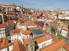 Porto City Aerial View made by Professional Drone, Portugal Stock Footage