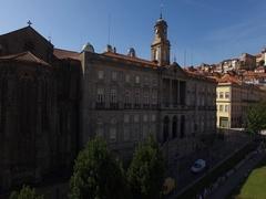 Palacio Da Bolsa, Porto, Portugal Stock Footage