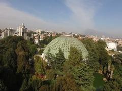 Aerial View made by Professional Drone of Palacio de Cristal, Porto, Portugal Stock Footage