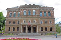 Croatian Academy of Sciences and Arts Stock Photos