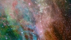 Flying through star fields in outer space - Space Travel 2185 HD Stock Video Arkistovideo