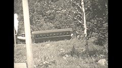 Vintage 16mm film, 1932 Mt Washington, cog railway. Rare! Stock Footage