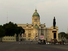 Timelapse The Equestrian Statue of King Chulalongkorn4 Stock Footage