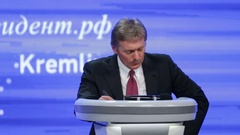 Dmitry Peskov - Press Attache for the President of Russia Stock Footage
