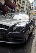 Premium car on the street luxury brands mercedes benz Kuvituskuvat