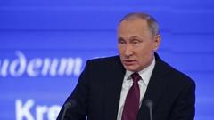 President of the Russian Federation Vladimir Vladimirovich Putin Stock Footage