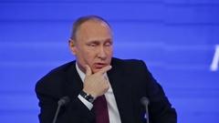 The President of the Russian Federation Vladimir Vladimirovich Putin Stock Footage