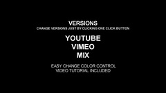 Youtube & Vimeo Channel Promo Stock After Effects