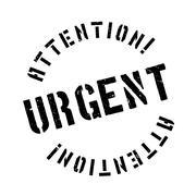 Urgent rubber stamp Stock Illustration