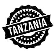 Tanzania stamp rubber grunge Stock Illustration