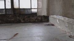 Abandoned old building Stock Footage