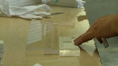Plastic assembly glue  Stock Footage