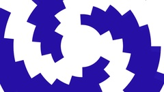 Shape transition circular Stock Footage