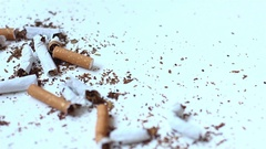 Quit smoking Stock Footage