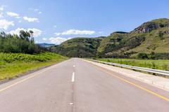 Road Valley Entrance Mountains Explore Stock Photos