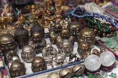 Chinese souvenirs. Various accessories Stock Photos