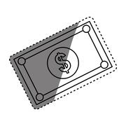Money billets cash Stock Illustration