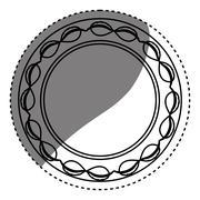 Isolated award ribbon Stock Illustration