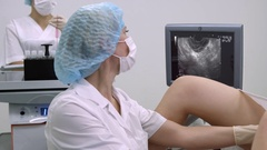 Gynecological surgery Stock Footage