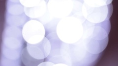 Abstract background of white lights blurry Stock Footage