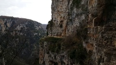 The Monastery of Saint Paraskevi Stock Footage