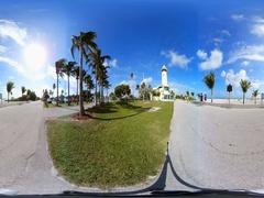 360vr Haulover Beach Florida Stock Footage
