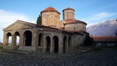 Monastery Saint Naum Ohrid's Stock Footage