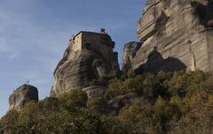 Orthodox monasteries Meteora, Kalambaka Greece. Stock Photos