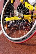 Wheelchair race Stock Photos