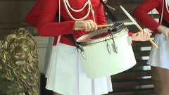 Marching band Stock Footage